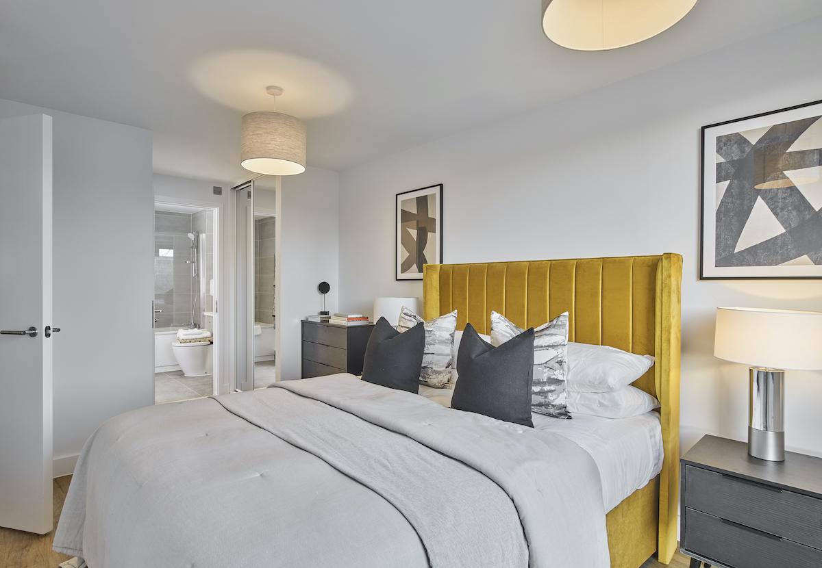 Bedroom two - Solstice Apartments MK - Grainger PLC