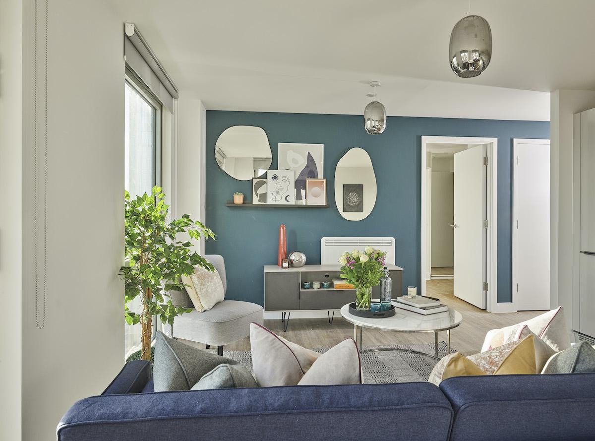 Living room - Solstice Apartments MK - Grainger PLC
