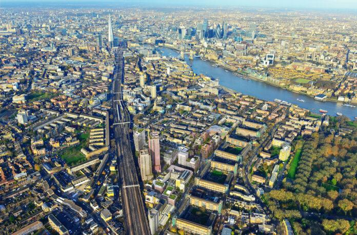 Aerial view - BTR - Grosvenor Britain & Ireland