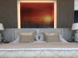Bedroom with wall frame - BTR Awards 2020 - The Property Recruitment Company   BTR News