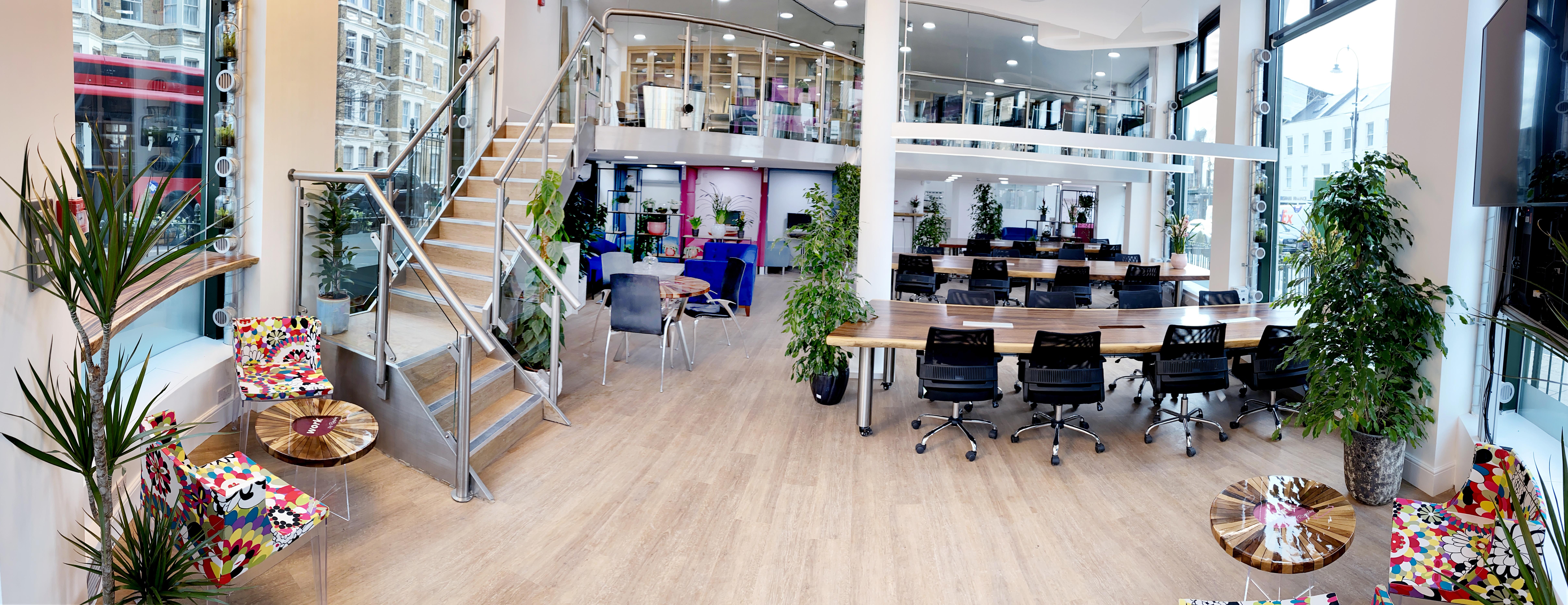 Camden Gateway hot desk space