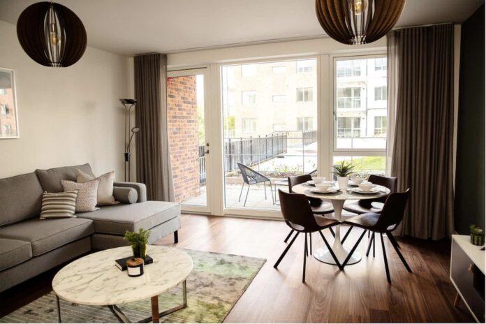 Fernbank Build to Rent living area