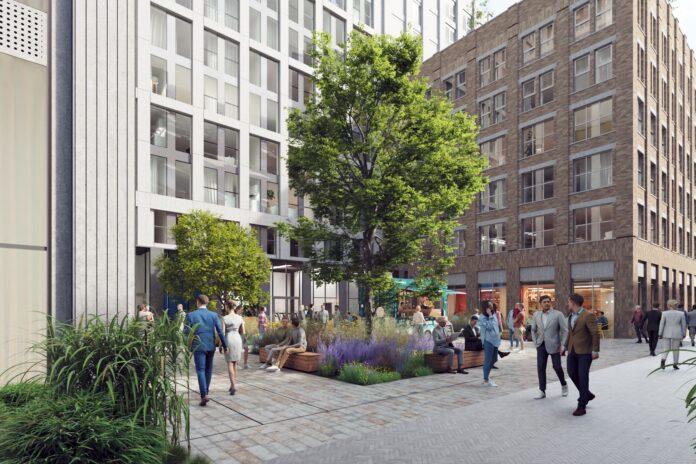 MODA GCS Street level view - external