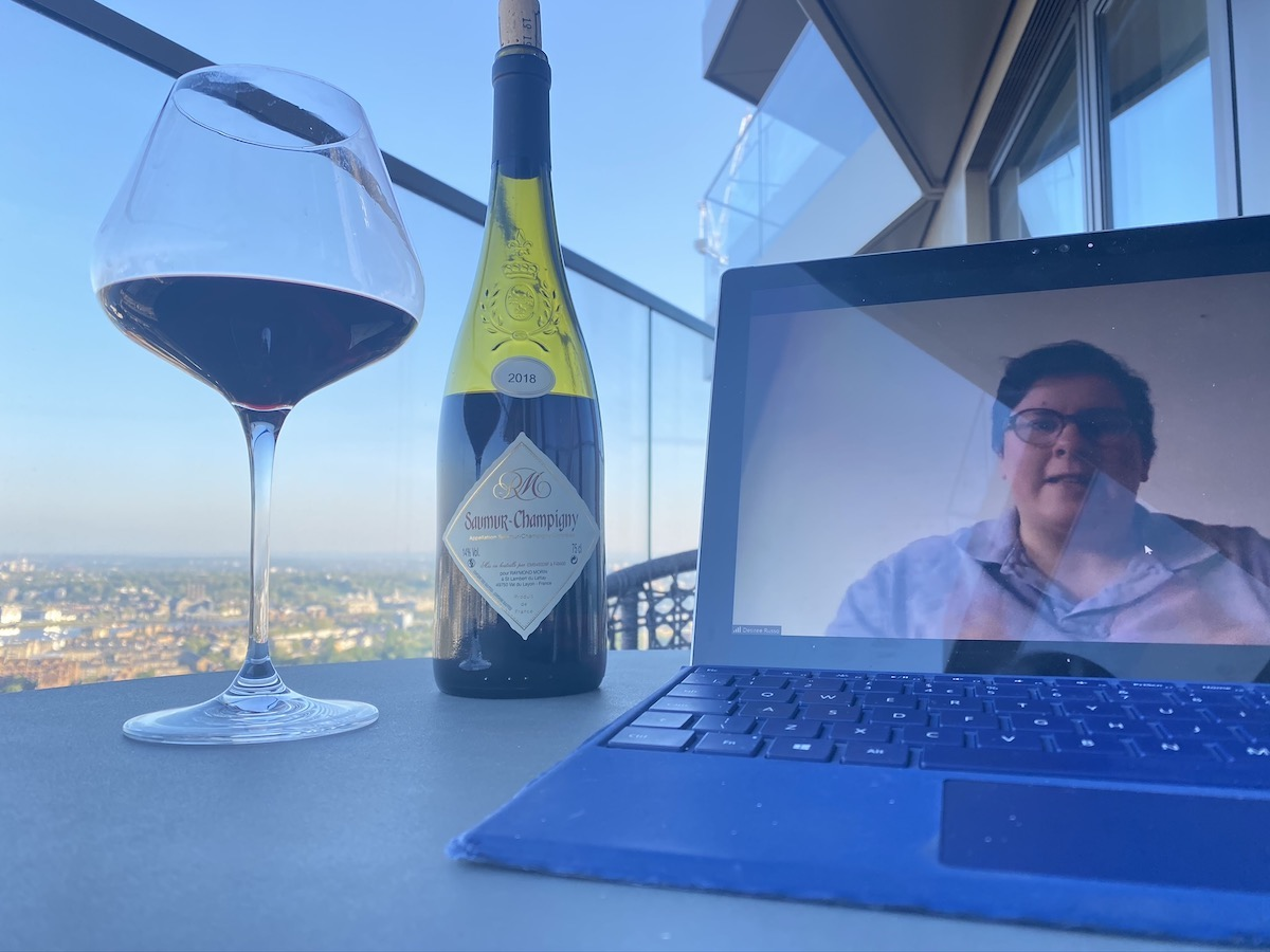 Vertus-Humble Grape Virtual Wine Tasting (resident's view)