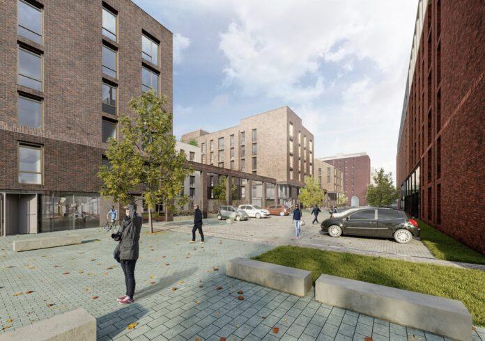 Bonnington Road Lane Build to Rent site, Edinburgh