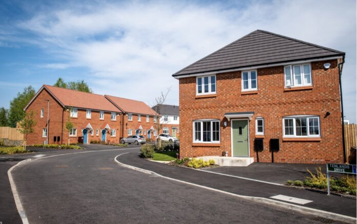 Prescot Park Build to Rent development