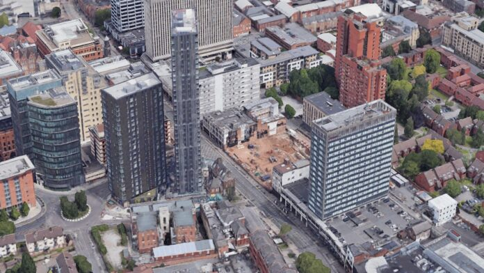 Broad Street, Birmingham Build to Rent scheme