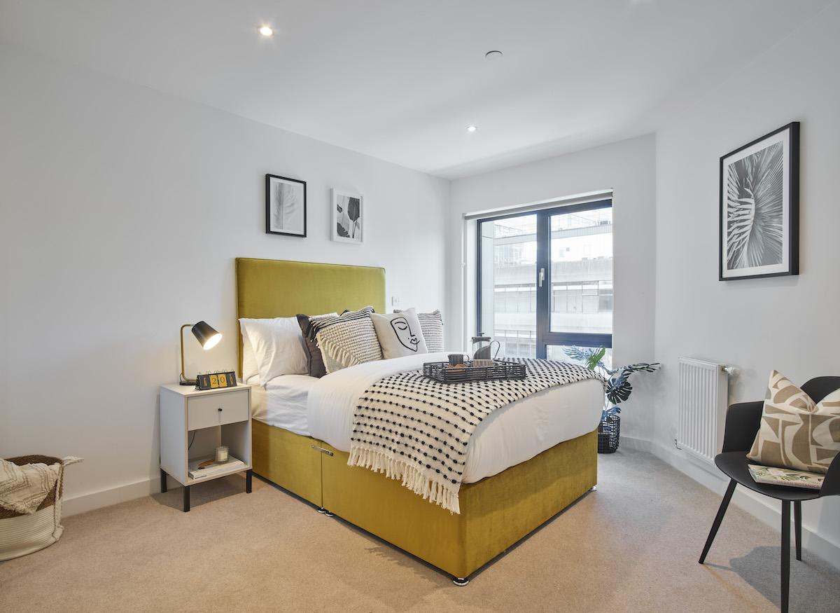Bedroom, BTR scheme, Ilford