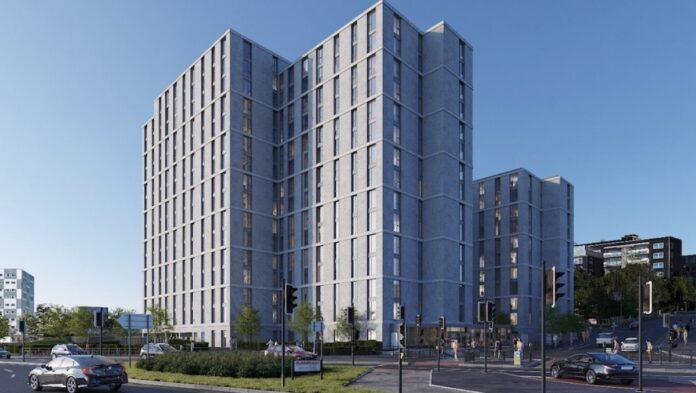 Build to Rent development, Flax Place, Leeds