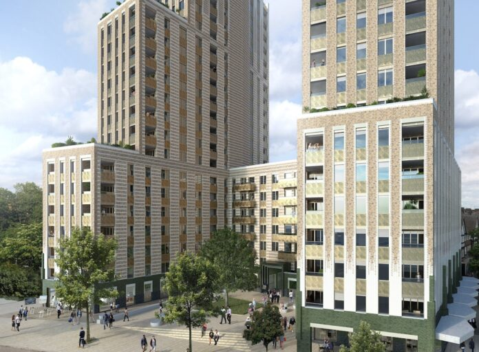 Chesterfield House Build to Rent scheme - UNCLE Wembley