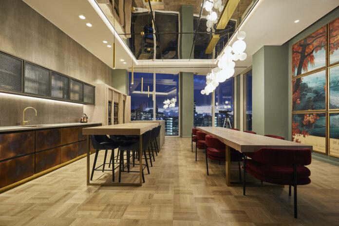 Dining room - Angel Gardens Build to Rent development