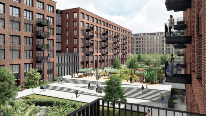 Parabola's Build to Rent scheme at Edinburgh Park