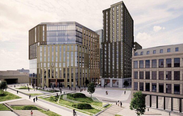 Buchanan Wharf development, Glasgow