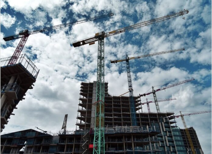 Construction site - Build to Rent