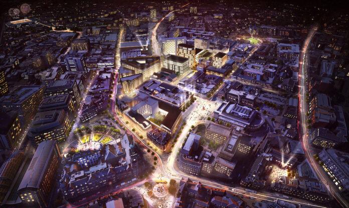 Sheffield Heart of the City II masterplan
