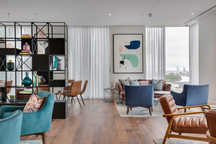 Union Wharf communal living spaces - LOFT | BTR News