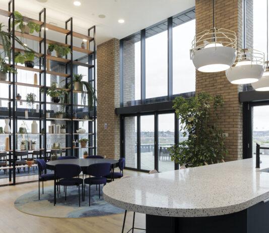 The Wullcomb kitchen and dining area - CallisonRTKL | BTR News