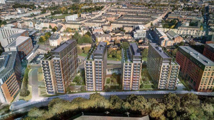 Four Kelvin Living Build to Rent buildings, Glasgow - KR Developements | BTR News
