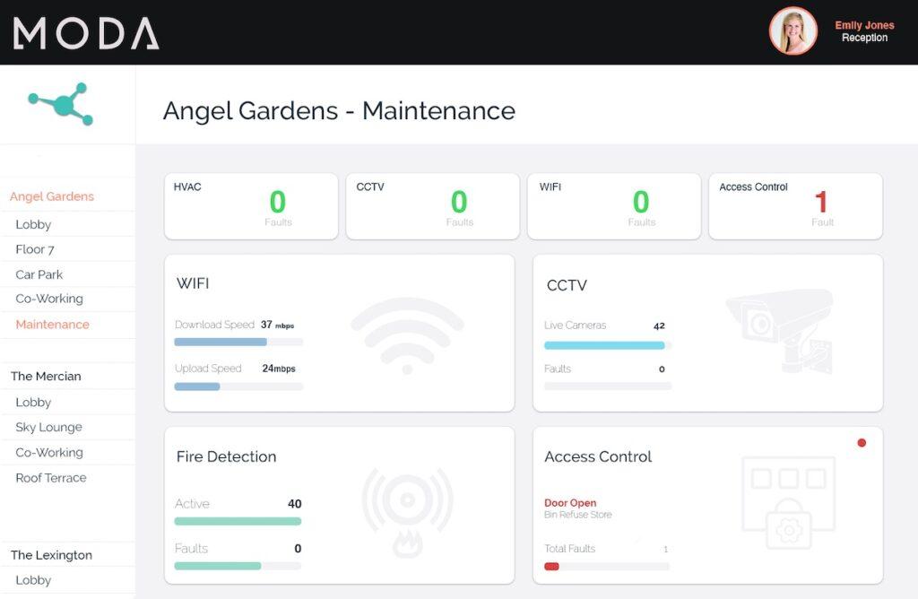 Moda's maintenance dashboard | BTR News