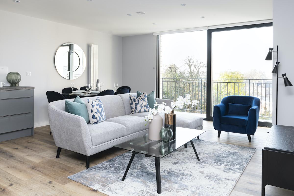 Living room - Veronica Rodriguez - Interior Photographer - David Phillips | BTR News