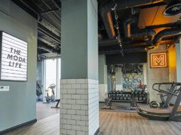 Adam Ellis art in gym - Moda Living | BTR News