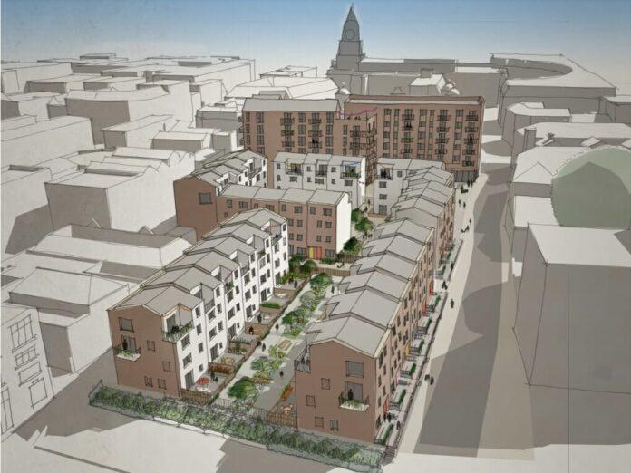 Development designed by architect Levitt Bernstein - Placefirst   BTR News