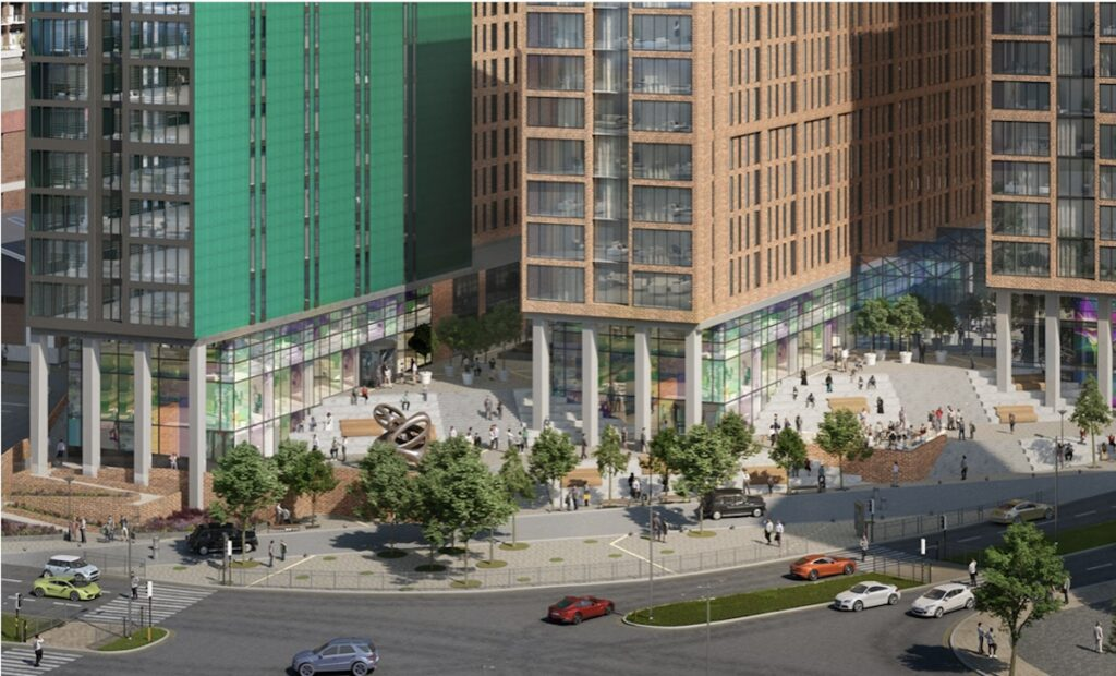 CGI of Street View of Norton Point scheme, Liverpool   BTR News