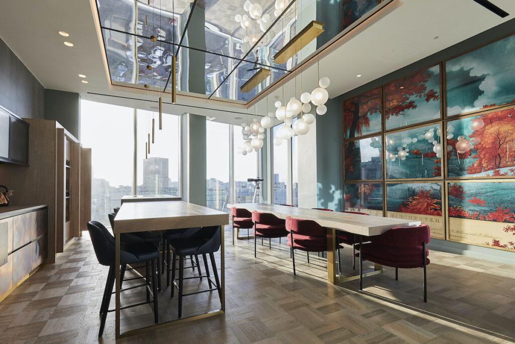 Private dining area at Angel Gardens - Moda Living | BTR News