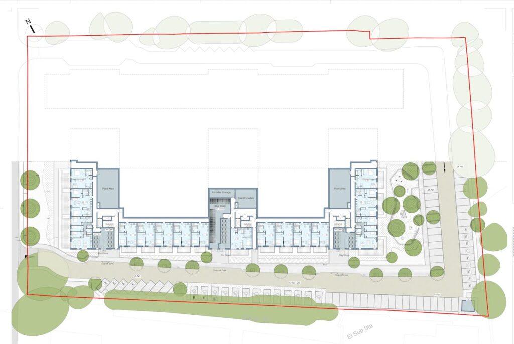 Second floor plans at Randalls Way - Broadway Malyan's | BTR News