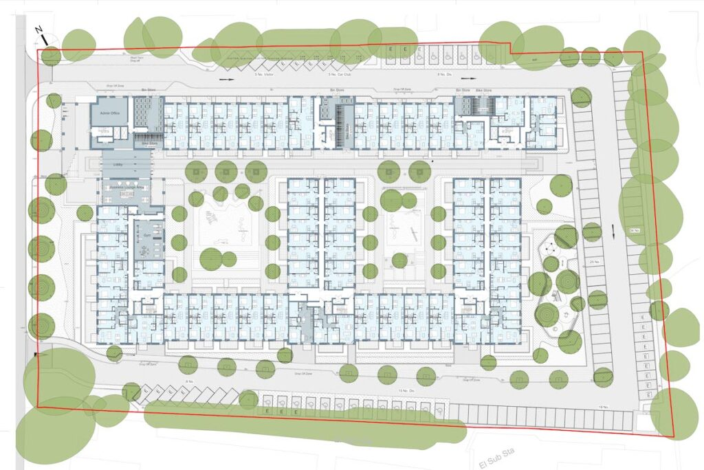 Upper ground floor plan at Randalls way - Broadway Malyan | BTR News