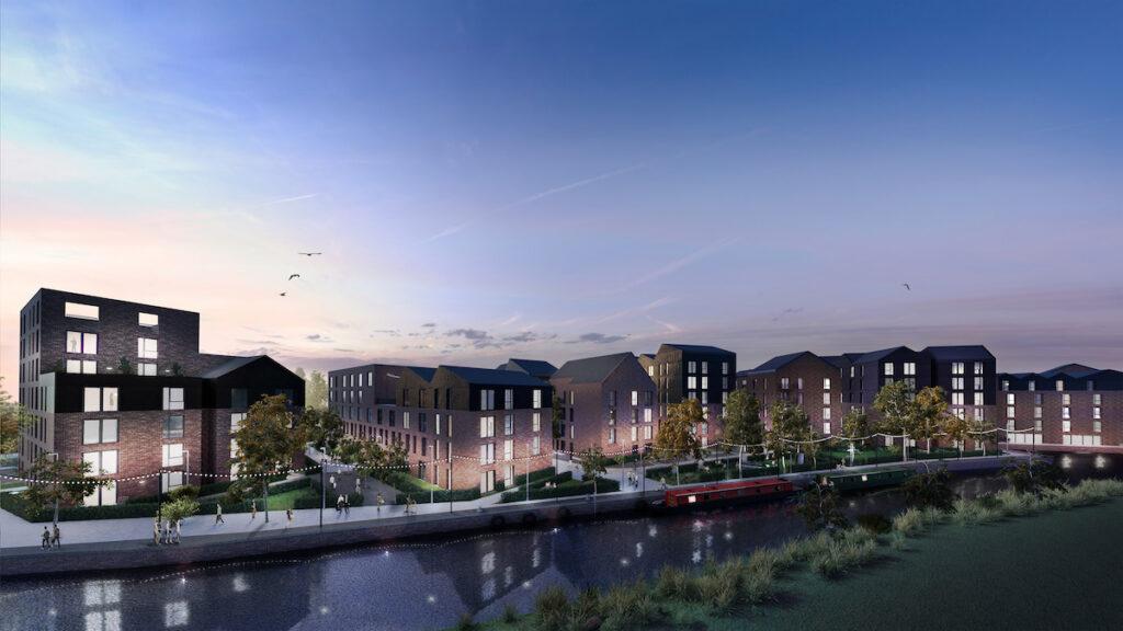 Wolverhampton canalside proposal - Placefirst   BTR News