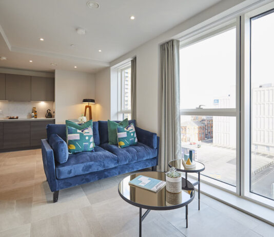 Lounge at Moda's Angel Gardens, Manchester - Love to Rent | BTR News
