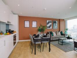 Show flat at The Filaments, Salford - Grainger plc   BTR News